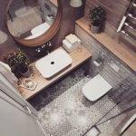 20 Best Farmhouse Bathroom Tile Decor Ideas (12)