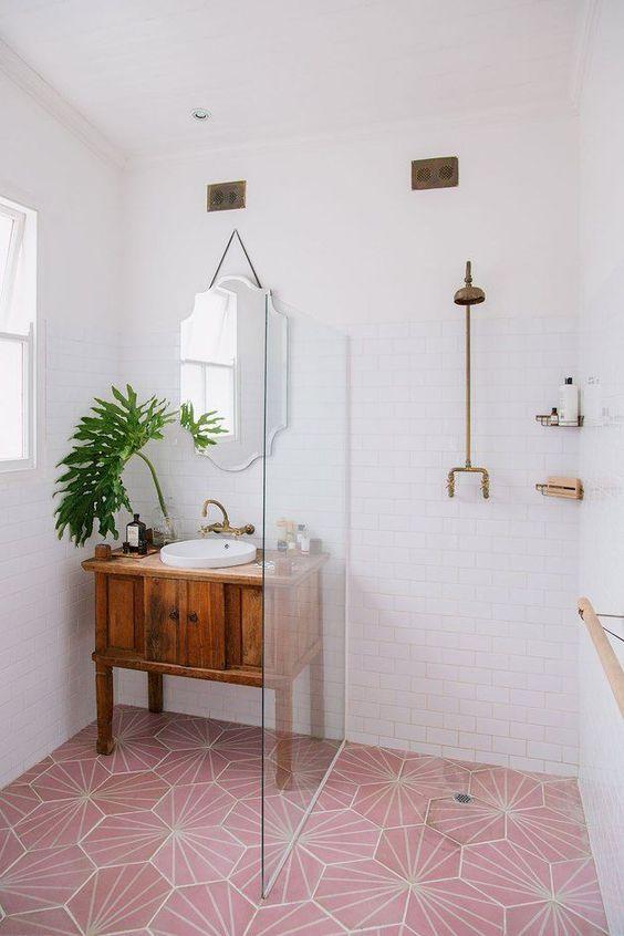 20 Best Farmhouse Bathroom Vanity Decor Ideas (5)