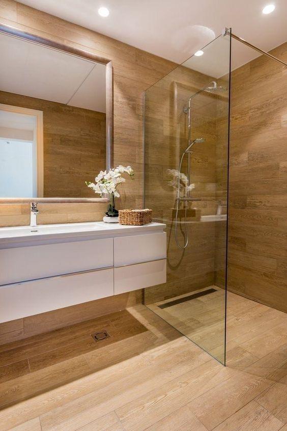 20 Best Farmhouse Bathroom Vanity Decor Ideas (8)