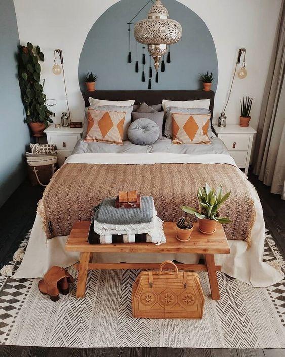 20 Best Farmhouse Bedroom Decor Ideas (10)