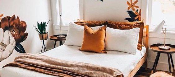 20 Best Farmhouse Bedroom Decor Ideas (14)