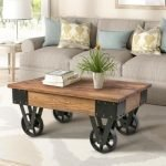 20 Best Farmhouse Coffee Table Decor Ideas (8)