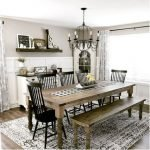 20 Best Farmhouse Dining Room Decor Ideas (10)