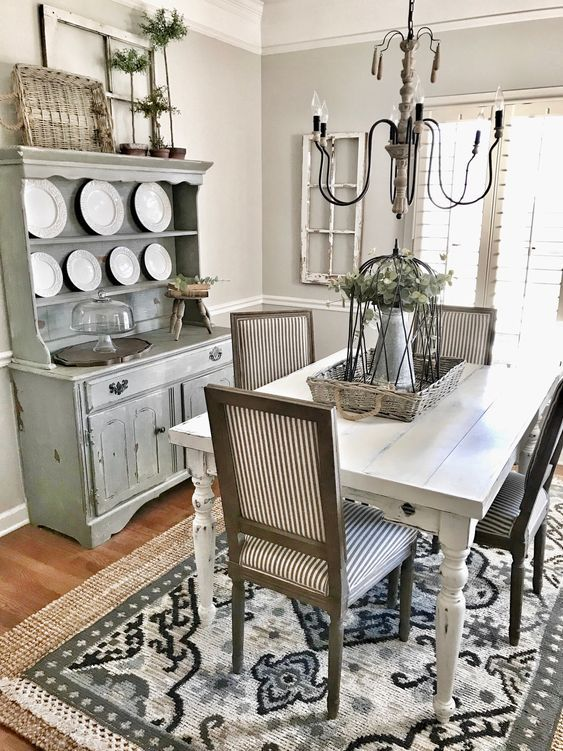 20 Best Farmhouse Dining Room Decor Ideas (12)