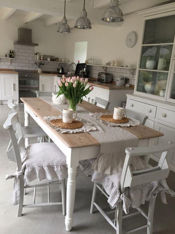20 Best Farmhouse Dining Room Decor Ideas (14)