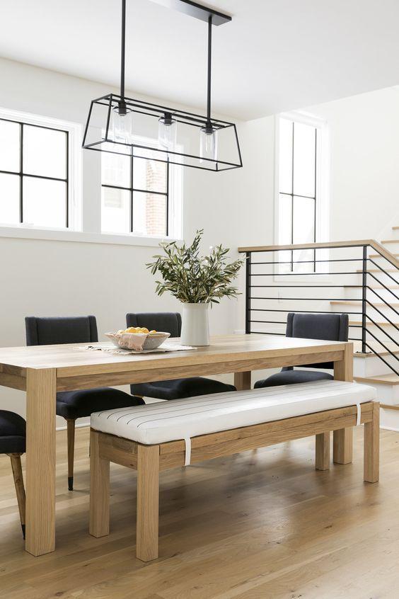 20 Best Farmhouse Dining Room Decor Ideas (15)