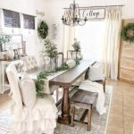 20 Best Farmhouse Dining Room Decor Ideas (19)