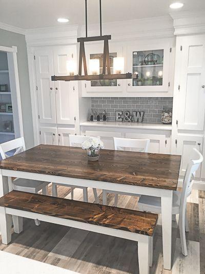 20 Best Farmhouse Dining Room Decor Ideas (3)