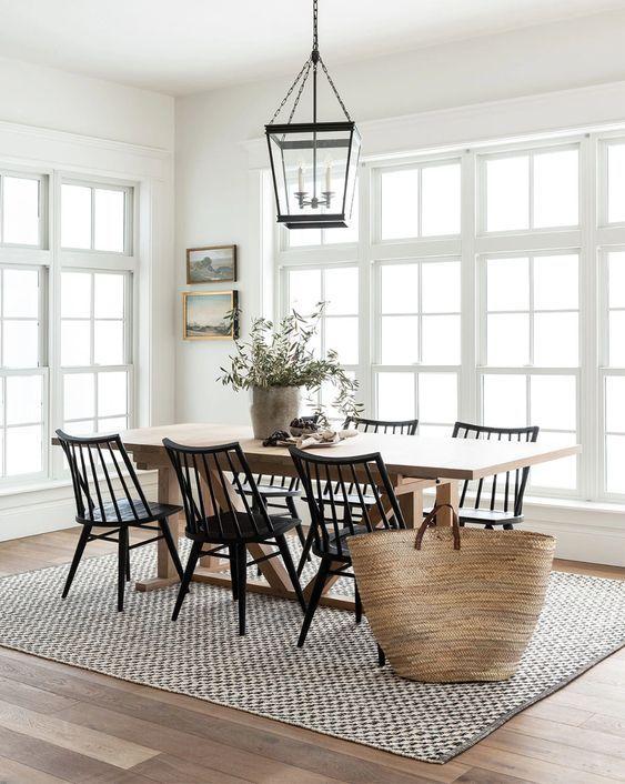 20 Best Farmhouse Dining Room Decor Ideas (6)