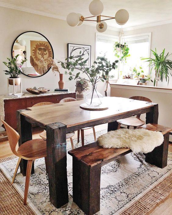 20 Best Farmhouse Dining Room Decor Ideas (8)