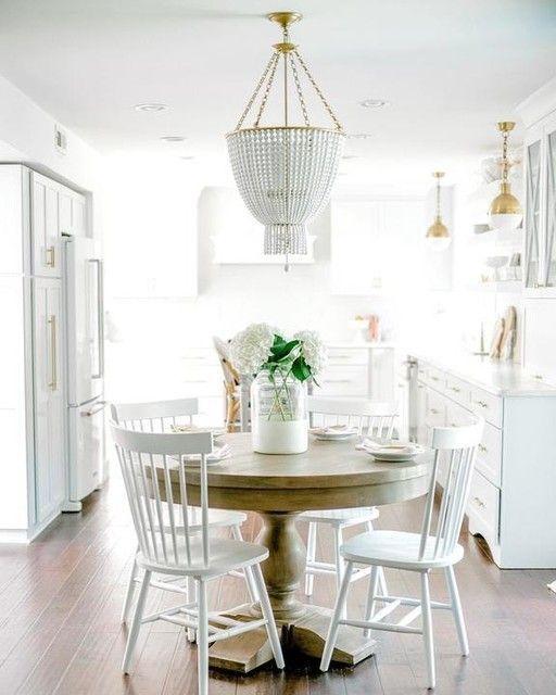 20 Best Farmhouse Dining Room Lighting Decor Ideas (12)