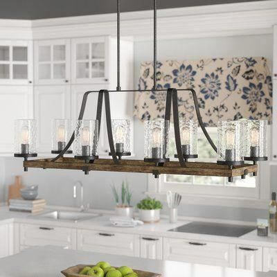 20 Best Farmhouse Dining Room Lighting Decor Ideas (20)