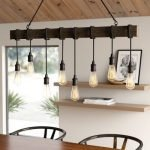 20 Best Farmhouse Dining Room Lighting Decor Ideas (8)