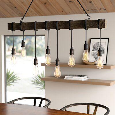 20 Best Farmhouse Dining Room Lighting Decor Ideas (8)