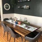 20 Best Farmhouse Dining Room Table Decor Ideas (11)