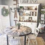 20 Best Farmhouse Dining Room Table Decor Ideas (13)