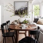 20 Best Farmhouse Dining Room Table Decor Ideas (14)