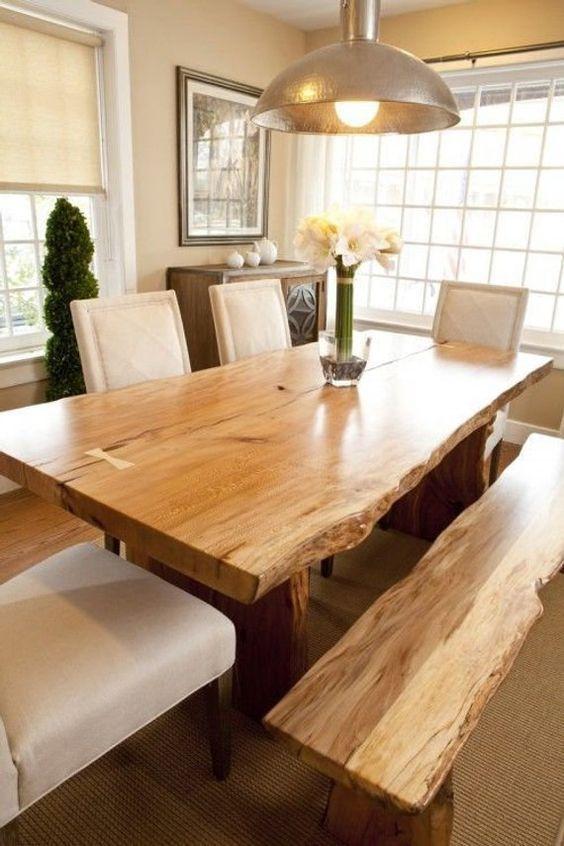 20 Best Farmhouse Dining Room Table Decor Ideas (16)