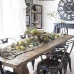 20 Best Farmhouse Dining Room Table Decor Ideas (2)