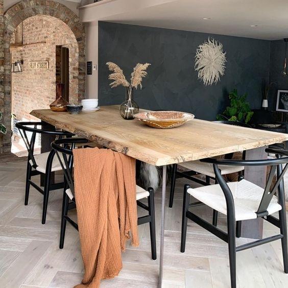 20 Best Farmhouse Dining Room Table Decor Ideas (20)