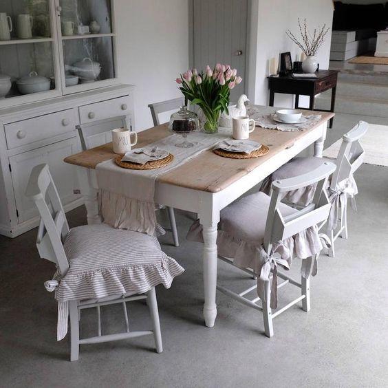 20 Best Farmhouse Dining Room Table Decor Ideas (6)