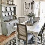 20 Best Farmhouse Dining Room Table Decor Ideas (9)
