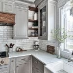 20 Best Farmhouse Kitchen Backsplash Decor Ideas (11)