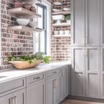 20 Best Farmhouse Kitchen Backsplash Decor Ideas (12)