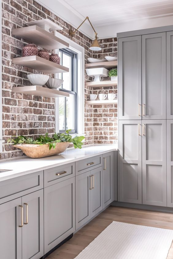 20 Best Farmhouse Kitchen Backsplash Decor Ideas (12)