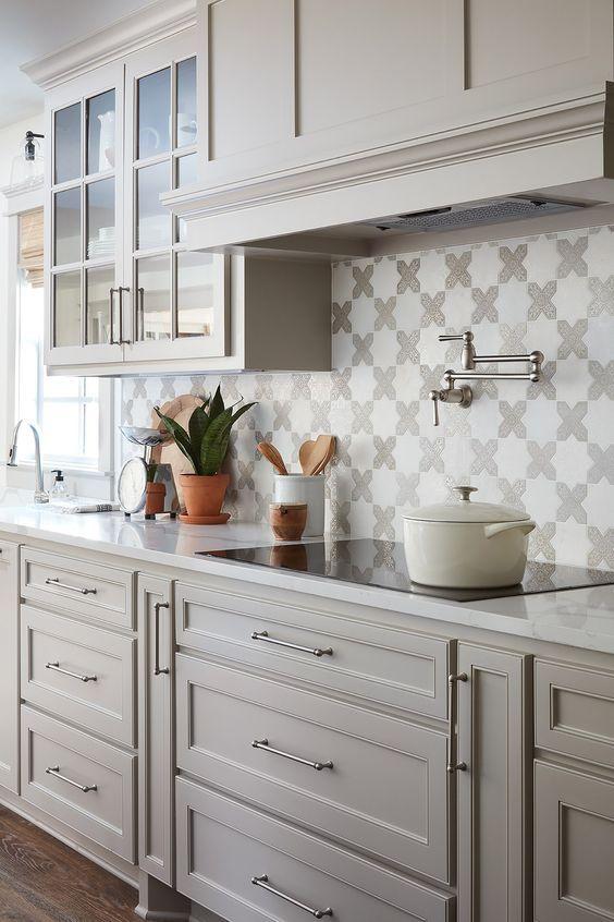 20 Best Farmhouse Kitchen Backsplash Decor Ideas (3)