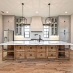 20 Best Farmhouse Kitchen Backsplash Decor Ideas (9)