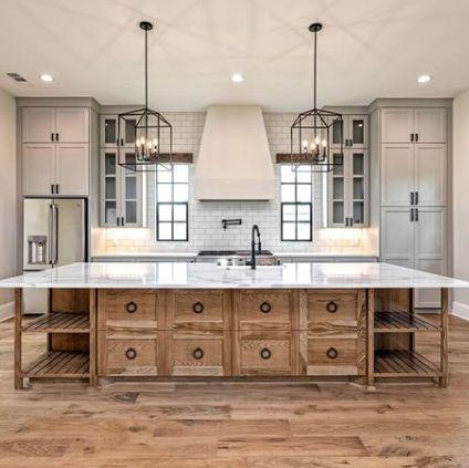 20 Best Farmhouse Kitchen Backsplash Decor Ideas (9)