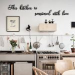 20 Best Farmhouse Kitchen Wall Decor Decor Ideas (14)