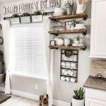 20 Best Farmhouse Kitchen Wall Decor Decor Ideas (16)