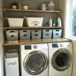 20 Best Farmhouse Laundry Room Decor Ideas (17)