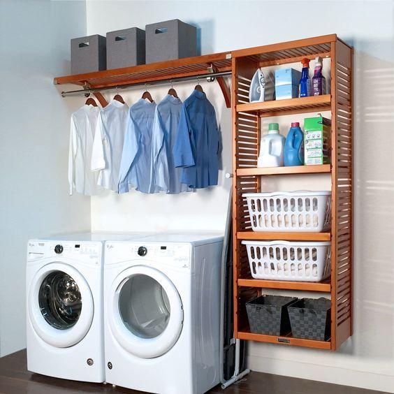 20 Best Farmhouse Laundry Room Decor Ideas (18)
