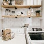 20 Best Farmhouse Laundry Room Decor Ideas (2)