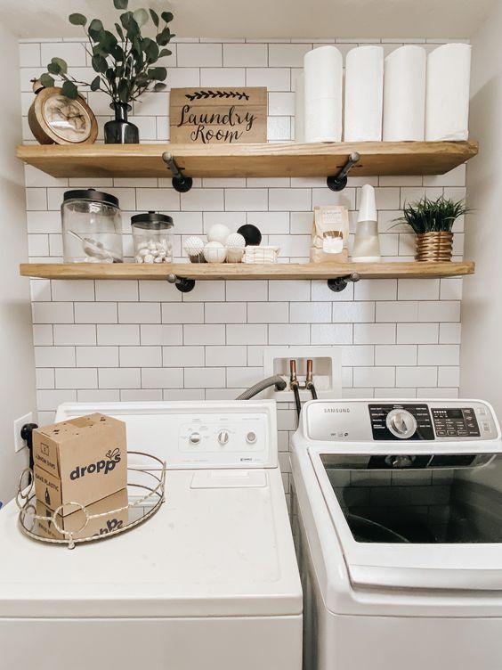 20 Best Farmhouse Laundry Room Decor Ideas House8055 Com