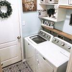 20 Best Farmhouse Laundry Room Decor Ideas (8)