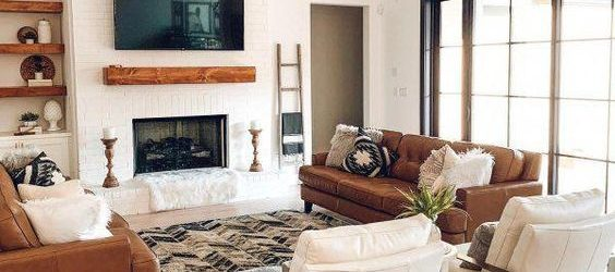 20 Best Farmhouse Living Room Decor Ideas (16)