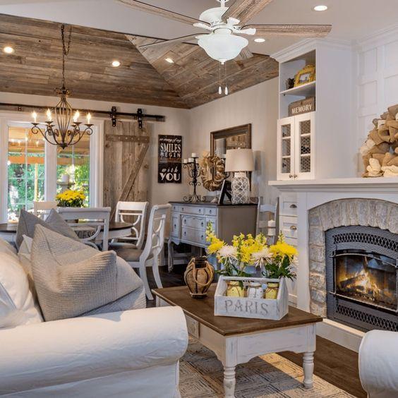 20 Best Farmhouse Living Room Decor Ideas (2)