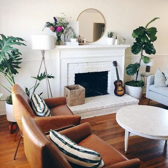 20 Best Farmhouse Living Room Decor Ideas (4)