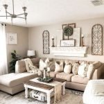 20 Best Farmhouse Living Room Decor Ideas (8)
