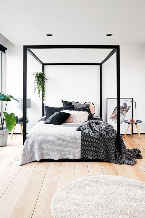 20 Best Industrial Farmhouse Bedroom Decor Ideas (15)