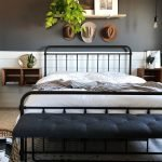 20 Best Industrial Farmhouse Bedroom Decor Ideas (18)