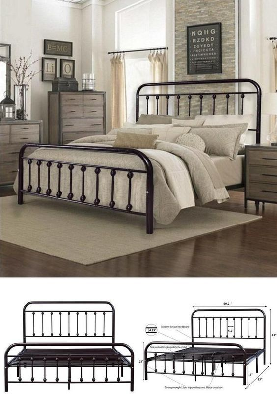 20 Best Industrial Farmhouse Bedroom Decor Ideas (3)