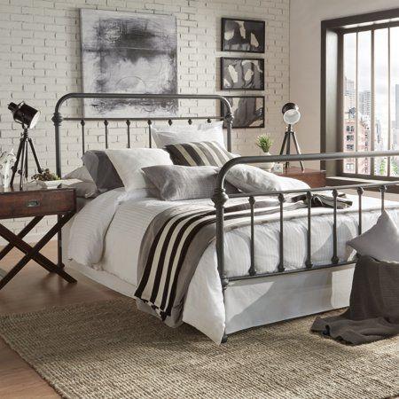 20 Best Industrial Farmhouse Bedroom Decor Ideas (6)