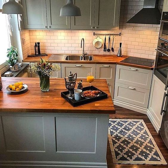 20 Best Modern Farmhouse Kitchens Decor Ideas (1)