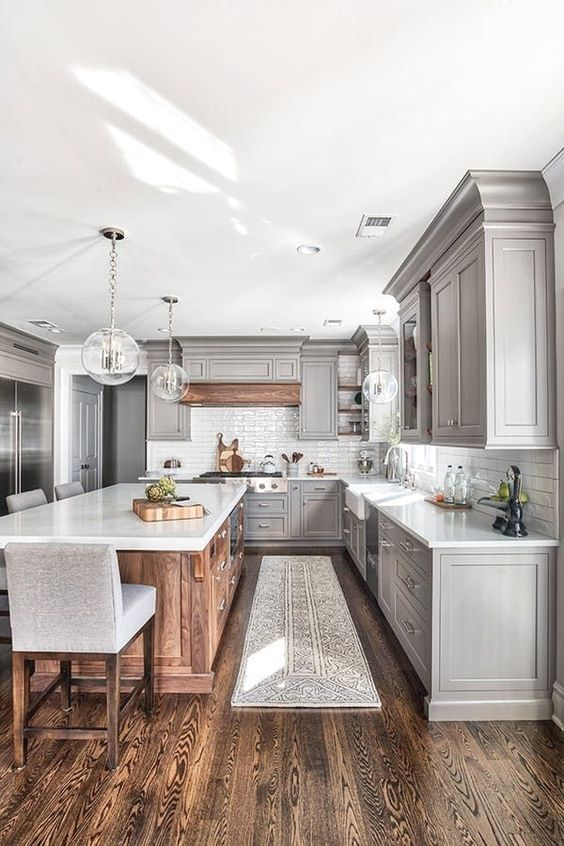 20 Best Modern Farmhouse Kitchens Decor Ideas (16)