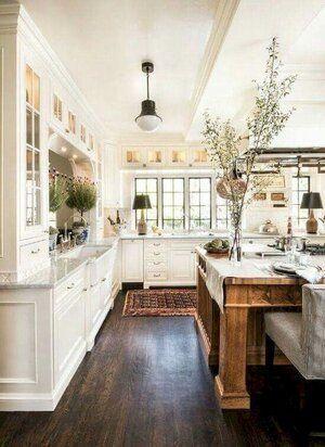 20 Best Modern Farmhouse Kitchens Decor Ideas (17)